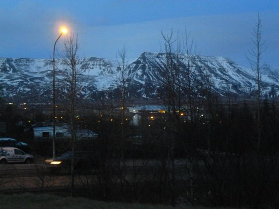 Mosfellsbaer, Islandia:                                     View from our room