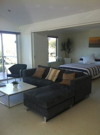Boat Harbour, Australia:                                     lounge and bedroom 1