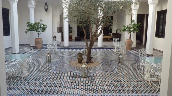 Bellamane, Ryad & Spa:                   Internal Patio
