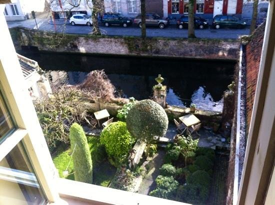 Cote Canal:                   view from our room