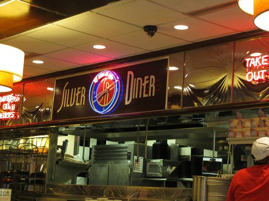 McLean, VA:                   Inside the Silver Diner