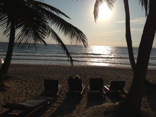Ixchel Playa & Cabanas:                   Morning on the ixchel cabana beach