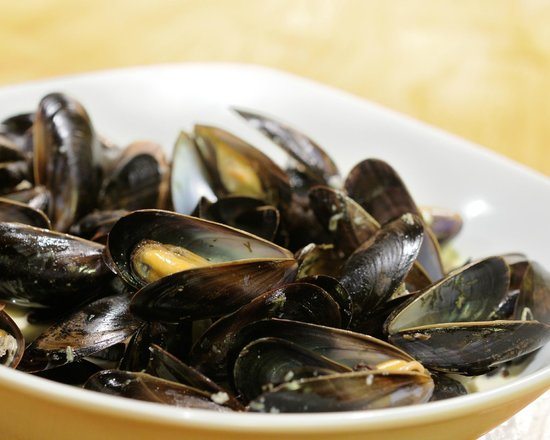 Appleton le Moors, UK: Mussels as a starter or main course