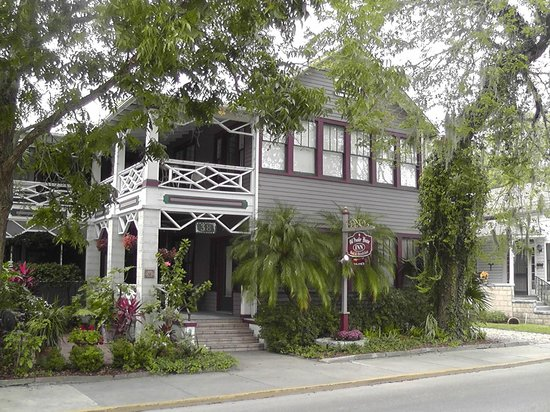 The Old Powder House Inn:                   Old Powder House, St. Augustine, FL.