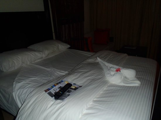 Secrets Wild Orchid Montego Bay: Michalya did the best turn down service every night