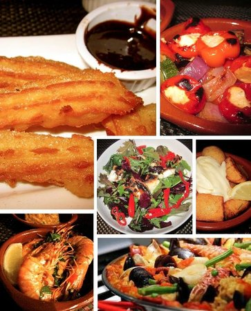 Sandbach, UK: A selection of our dishes
