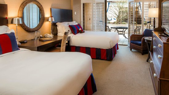 Portola Hotel &amp; Spa at Monterey Bay: Courtyard Room