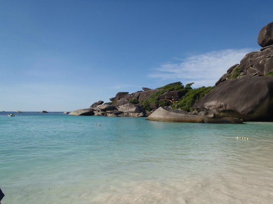 Chalong, Tajlandia: One of the lower Similian Islands