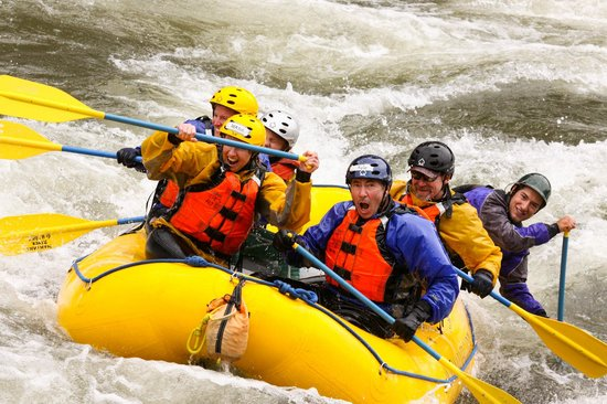 Alberton, Μοντάνα: Whitewater rafting near Missoula