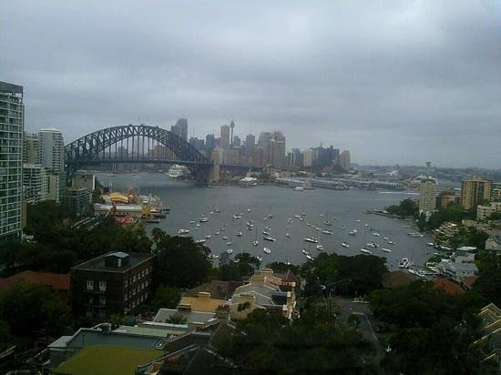 North Sydney, Australia:                   view from room