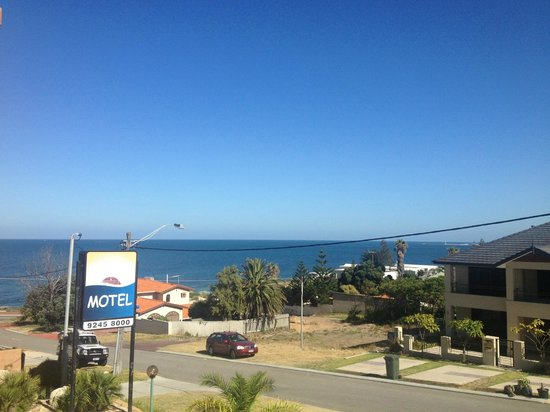 North Beach, Australia:                   View from a second story room
