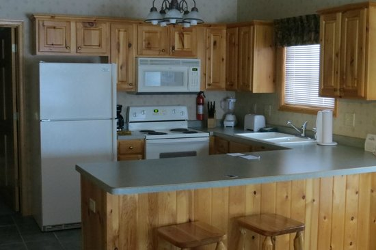 Breezy Point Resort:                                     Modern kitchen
