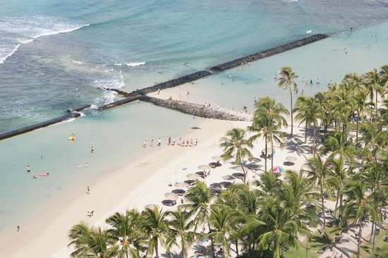 Aston Waikiki Beach Hotel: View