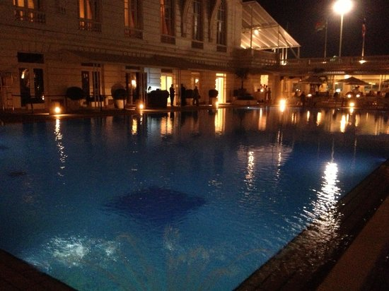 Copacabana Palace Hotel by Orient-Express:                   The swimming pool