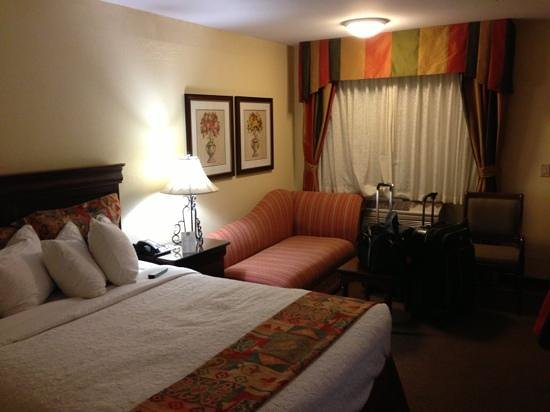 BEST WESTERN PLUS Rose Garden Inn:                   it&#39;s handy to have a couch! but it didn&#39;t feel too cramped.