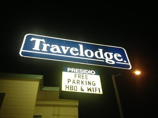 San Francisco at The Presidio Travelodge:                   free wifi and parking are real winners.