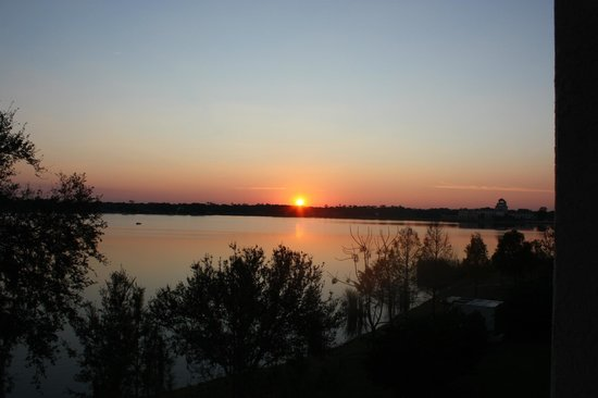Sebring, FL:                                     Sunset view from room 317