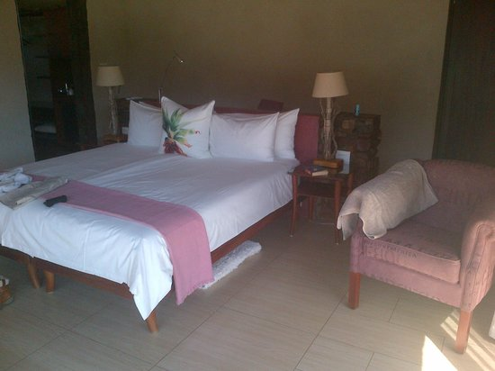 White Lion Lodge:                   Luxury rooms