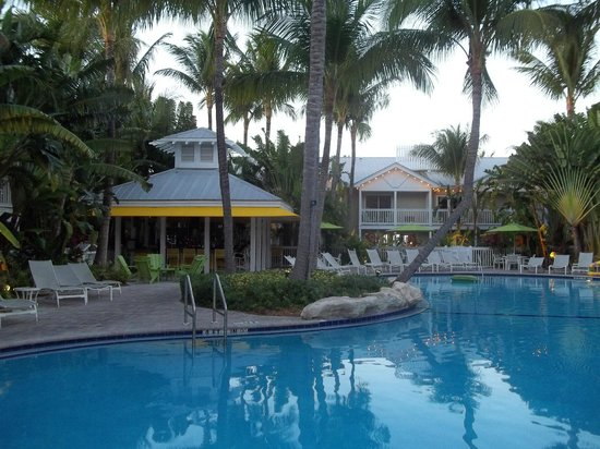 The Inn at Key West:                   Riki bar beside pool