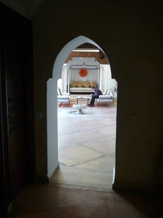 Riad Charai: Entrance