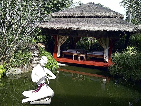 Zazen Boutique Resort & Spa:                   View of the Massage Area in the Spa