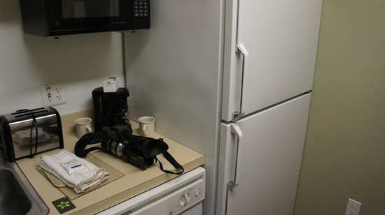 Extended Stay America - Tampa - Airport - N. West Shore Blvd.:                   Full sized fridge