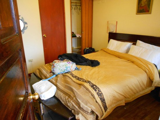 Hostal Cusi Wasi:                   habitacion doble