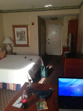 Hilton Garden Inn Secaucus / Meadowlands: Single king, room 131