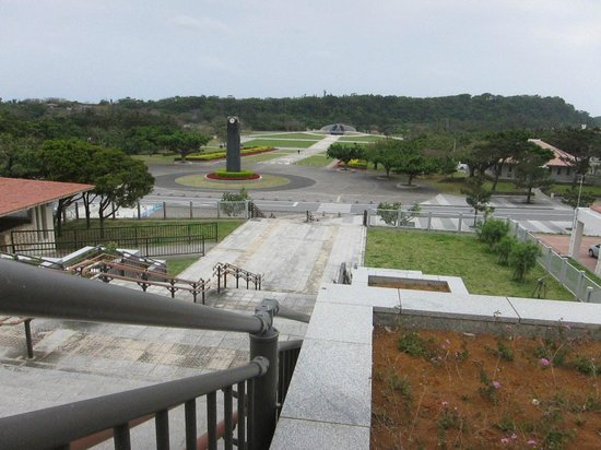 View of the Okinawa Peace Memorial Park