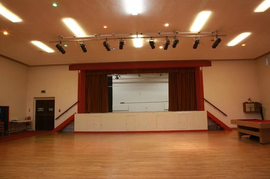 Leitrim, Irland: Hall available for any type of entertainment or family function.