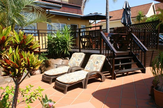 Africa Regent Guest House: Sun Patio