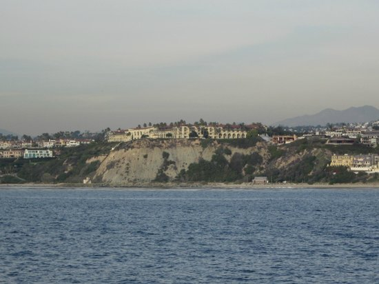 The Ritz-Carlton, Laguna Niguel:                   View of the hotel from the ocean.