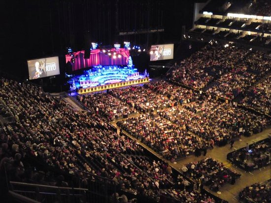 View of the concert venue from upper tier picture of the for Hotels 02 arena london