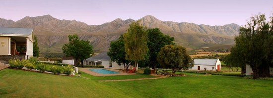 View of Swartberg Country Manor