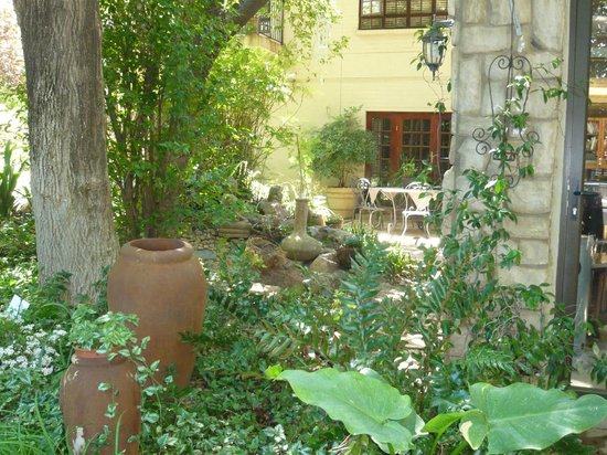 Amanzi Guest House:                   Garden