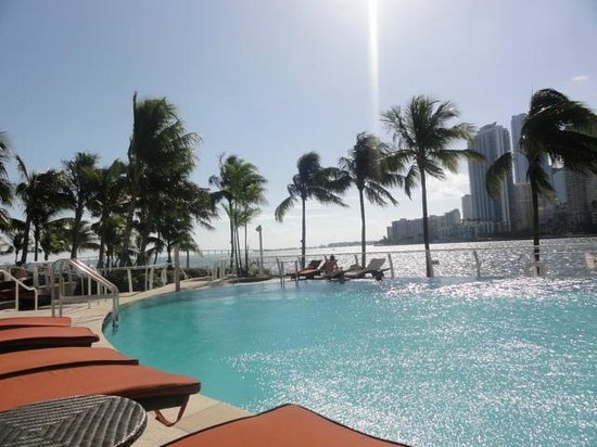 Mandarin Oriental, Miami:                   view from the pool