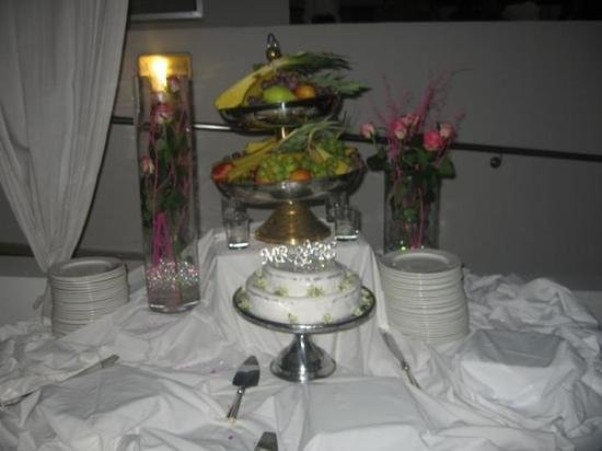 Napa Mermaid Hotel and Suites:                                                       wedding night buffet