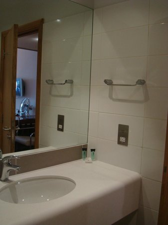 Louis Fitzgerald Hotel: The basics in the bathroom!