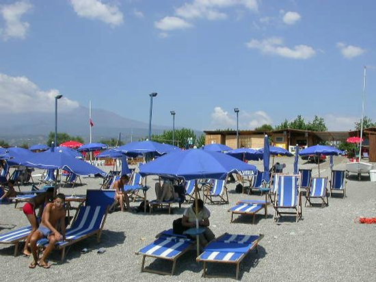 Hotel S. Andrea: Hotel Private Beach
