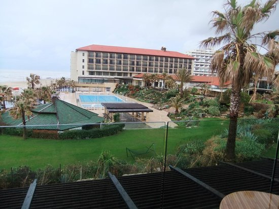 Dan Accadia Hotel Herzliya:                   View from room
