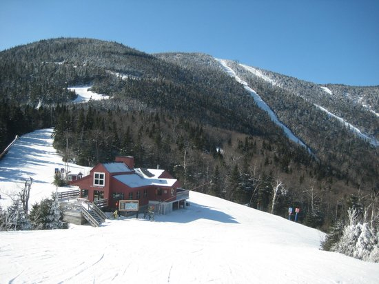 West Hill House B&B:                   Skiing at nearby Sugarbush