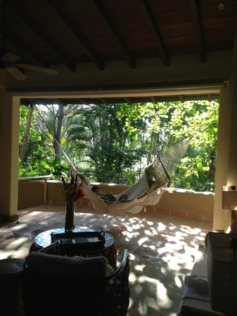Florblanca Resort: The hammock in our room