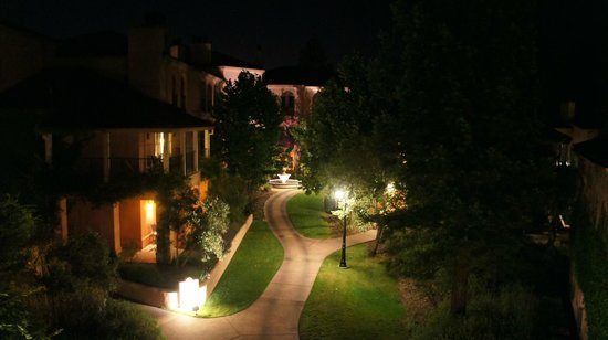 Fairmont Sonoma Mission Inn & Spa: The grounds at night (From June 2011 Trip)