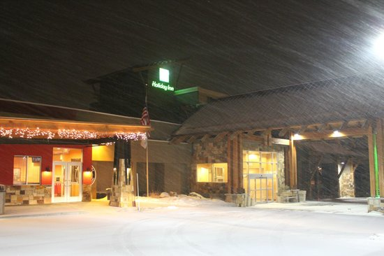 Holiday Inn Hotel Summit County:                   Typically lots of snow