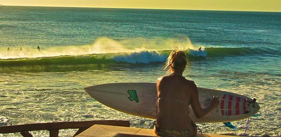 Miramar Surf Camp:                   Great spot to watch the surfers, take a swim in the pool or do some yoga