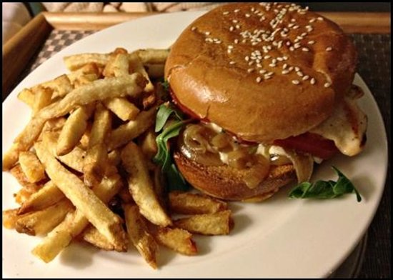 The Grande Colonial La Jolla:                   Room Service - In Room Dining - Grilled Chicken Sandwich