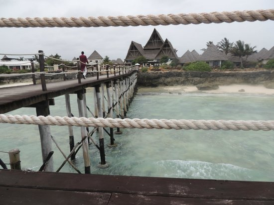 Essque Zalu Zanzibar:                   the hotel from the Jetty