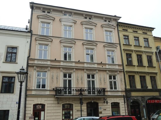                   Front of Hotel Senacki