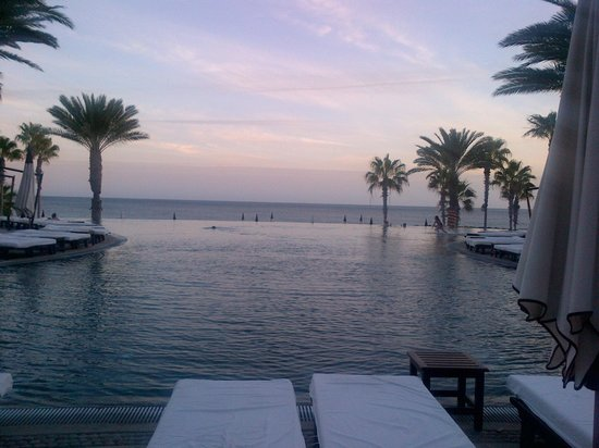 Hilton Los Cabos Beach & Golf Resort:                   view from hotel pool