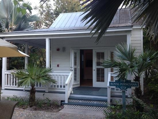 The Paradise Inn:                   The Royal Poinciana 2 bedroom cottage we stayed in